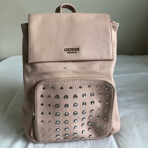 Guess cream color backpack!